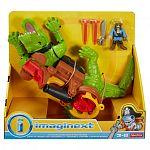 Fisher-Price Imaginext - Sétáló krokodil és Hook kaptiány (kép 4)