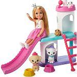 Barbie Princess Adventure Chelsea kiskedvencek kastélya játékszett (kép 2)