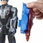 Bosszúállók Titán hősök POWER FX - Amerika kapitány figura (kép 3)