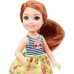 Barbie Chelsea babák - vörös hajú kislány lajháros felsőben (kép 2)
