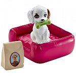 Barbie bútorok kiegészítőkkel - kisállat játszótér (kép 3)