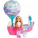 Barbie Dreamtopia Chelsea léghajóval (kép 3)