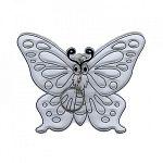 Kifesthető műanyag képek 3 db közepes - pillangós (kép 2)