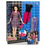 Barbie fashionista babák ruhákkal és kiegészítőkkel - fekete hajú (kép 4)