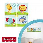 Fisher-Price vászon falikép 4 db (kép 3)