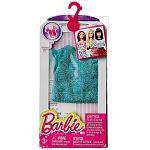 Barbie ruhák - csillogós türkiz felső (kép 2)