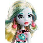 Monster High alap babák - Lagoona Blue emoji ruhában (kép 2)