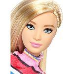 Barbie fashionista barátnők - szőke csíkos ruhában (kép 2)
