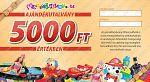 Ajándékutalvány - 5000 Ft értékben (kép 2)