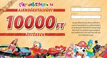 Ajándékutalvány - 10000 Ft értékben (kép 2)