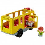 Fisher-Price Little People Fecsegő iskolabusz ÚJ (kép 3)
