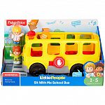 Fisher-Price Little People Fecsegő iskolabusz ÚJ (kép 4)