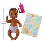 Barbie bébiszitter babák - Barna hajú bébi (kép 2)
