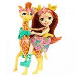 Enchantimals baba nagy állatkával - Gillian Giraffe és Pawl (kép 2)