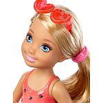Barbie Chelsea babák - szőke szivecskés fürdőruhában (kép 2)