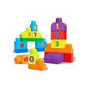 Mega Bloks 1-2-3 számolj építőkockák - 20 db
