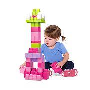 Mega Bloks Nagy lányos építő csomag - 60 db