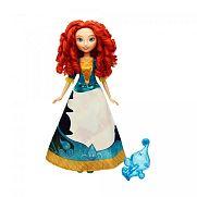 Disney Hercegnők - Meseszoknyás Merida baba
