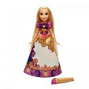 Disney Hercegnők - Meseszoknyás Aranyhaj baba
