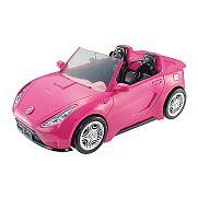 Barbie autó - pink kabrió