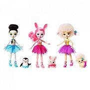 Enchantimals balerina babák játékszett