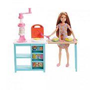 Barbie Stacie konyhája gyurmával
