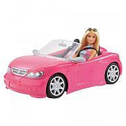 Barbie autó babával