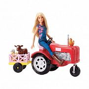 Barbie farmer baba traktorral