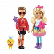 Barbie Dreamtopia Chelsea és Otto szett