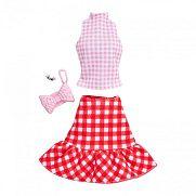 Barbie ruhák - Kockás szett kiegészítőkkel