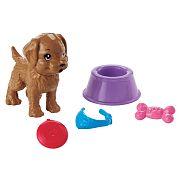 Barbie ház kiegészítők - Kutyus játékokkal szett