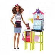Barbie karrier játékszett - Kutyakozmetikus