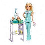 Barbie karrier játékszett - Gyerekorvos