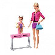 Barbie karrier játékszett - Tornász edző