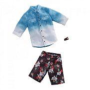 Barbie Ken ruhák - Kék-fehér ing