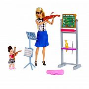 Barbie karrier játékszett - Zenetanár