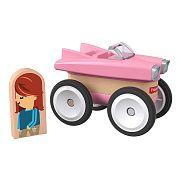 Fisher-Price Wonder Makers járművek - Rózsaszín autó
