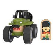 Fisher-Price Wonder Makers járművek - Zöld terepjáró