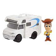 Toy Story 4 minifigurák járművel - Woody
