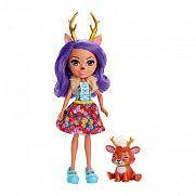 Enchantimals baba állatkával - Danessa Deer és Sprint ÚJ