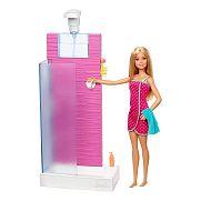 Barbie szoba babával - Zuhanyzó