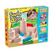 Sands Alive modellező homok - Kastély szett