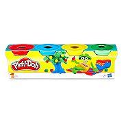 Play-Doh 4 darabos mini gyurmaszett