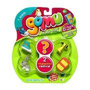 Gomu puzzle radír - 6 darabos szett