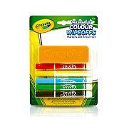 Crayola táblafilc törlővel - 5 db