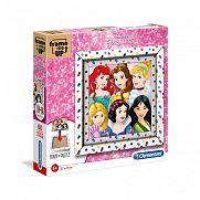 Clementoni puzzle képkerettel 60 db - Disney Hercegnők