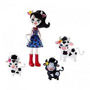 Enchantimals baba állatka családdal - Cambrie Cow és bocijai