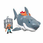 Fisher-Price Imaginext - Óriás cápa játékszett