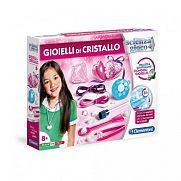 Clementoni tudomány és játék - Kristály ékszer készítő játékszett