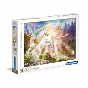 Clementoni High Quality Collection puzzle 500 db - Unikornisok